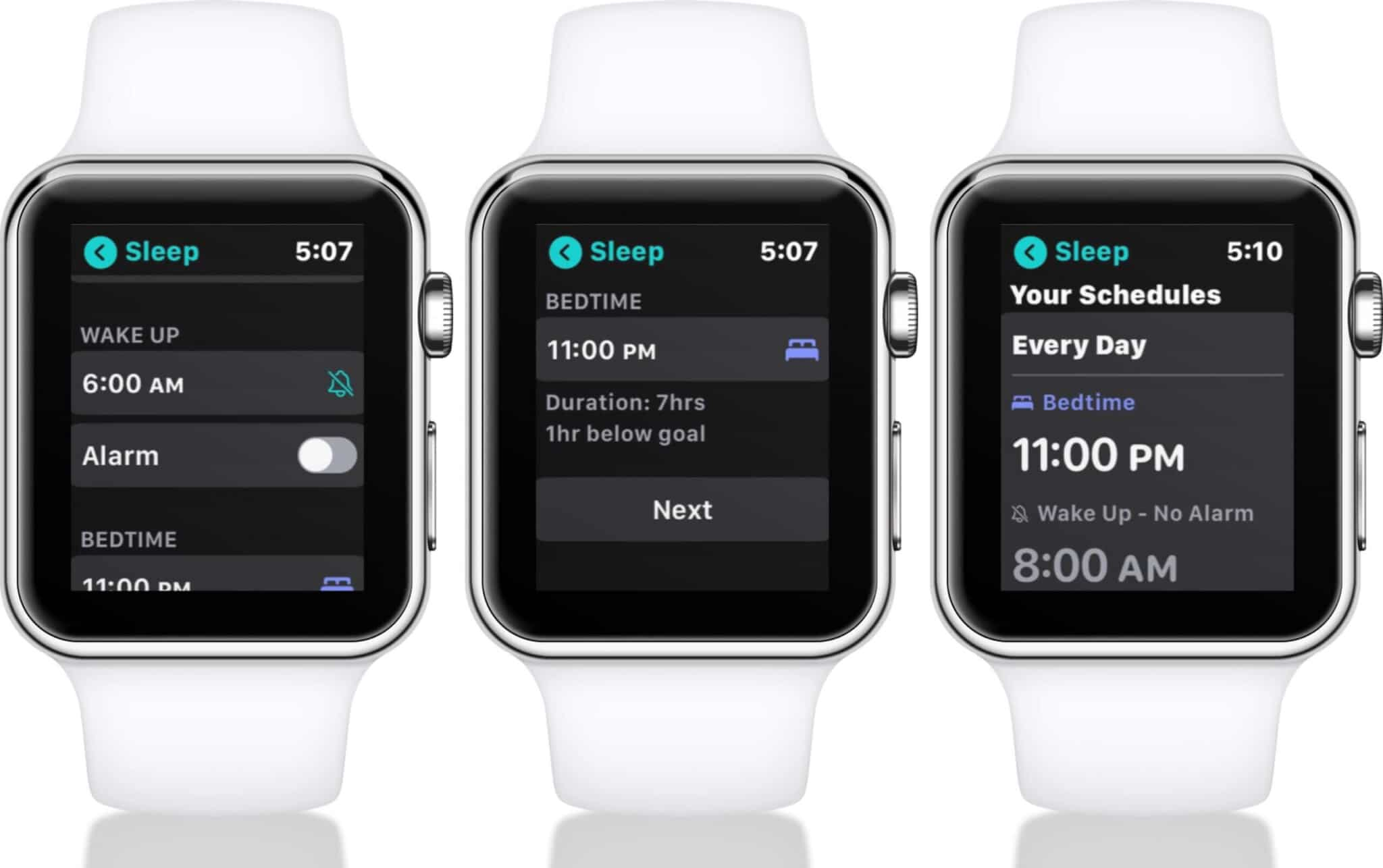 activate sleep tracking on apple watch