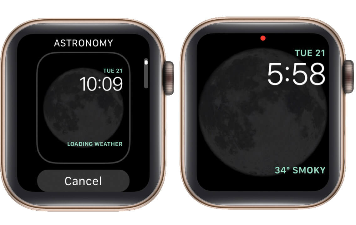 add watch face to apple watch collection