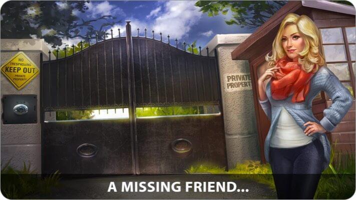 Adventure Escape iPhone and iPad Detective Game Screenshot