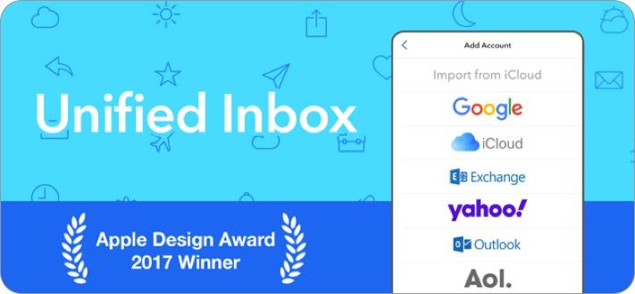 Airmail iPhone und iPad E-Mail-App Screenshot
