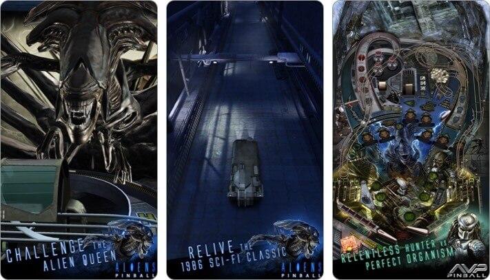 aliens vs pinball iphone and ipad game screenshot