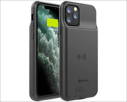alpatronix extended battery cover for iphone 11 pro max