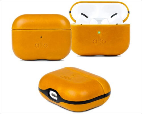 alto leather case for airpods pro