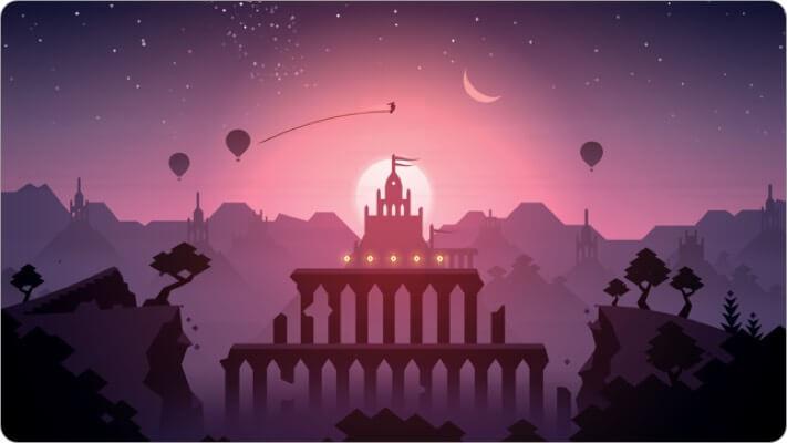 alto's odyssey apple tv game screenshot