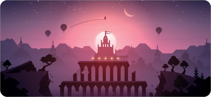 Alto's Odyssey iPhone Game Screenshot