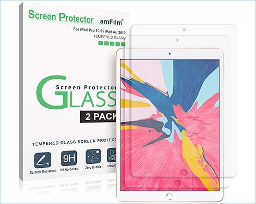 amFilm 10.5-inch iPad Air 3 Glass Screen Protector