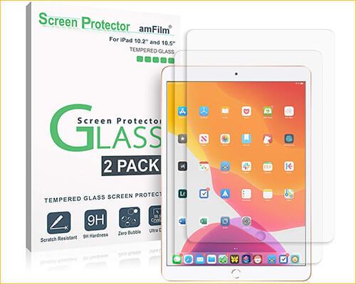 amFilm Glass Screen Protector for iPad 10.2-inch