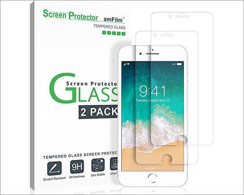 amFilm iPhone 8-7 Glass Screen Protector