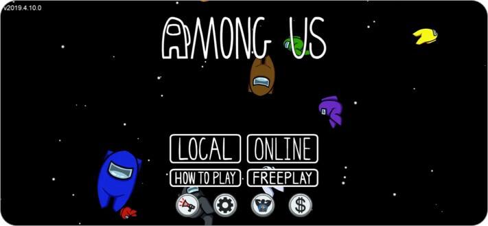 Among Us iPhone Game Screenshot