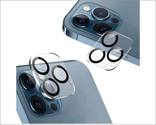 AMOVO iPhone 12 Pro Max Camera Lens Protector