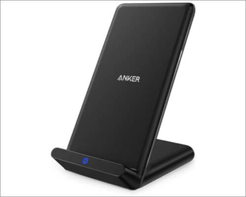 anker qi certified wireless charger for iphone xr