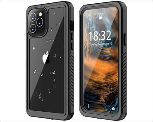 ANTSHARE Protective Waterproof Case for iPhone 12 Pro Max