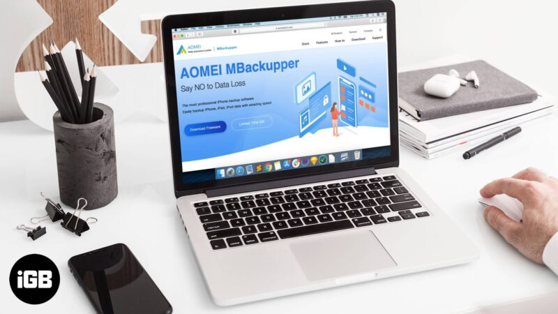 aomei mbackupper ios backup software review