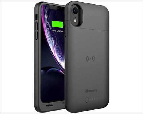 aplpatronix iphone xr battery case