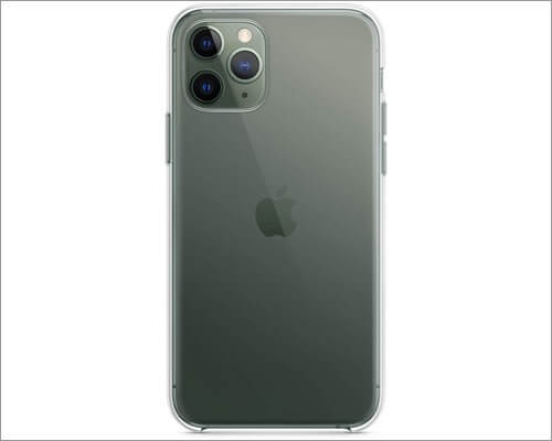 apple clear case for iphone 11 pro