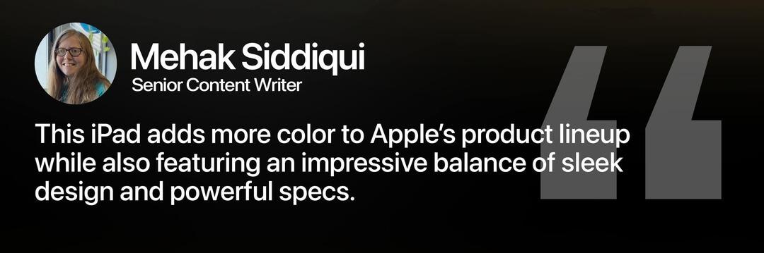 Apple iPad Air Review Mehak