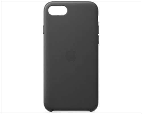 apple iphone se 2020 leather case