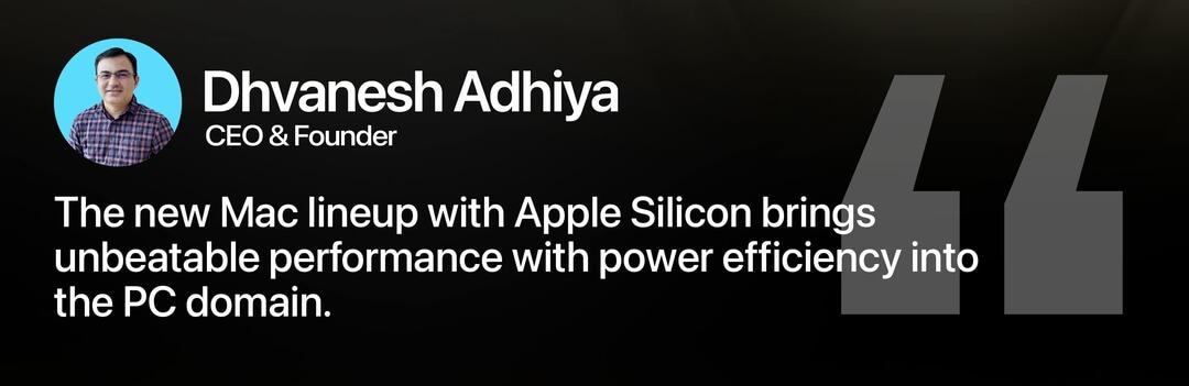 Apple M1 Mac Review Dhvanesh