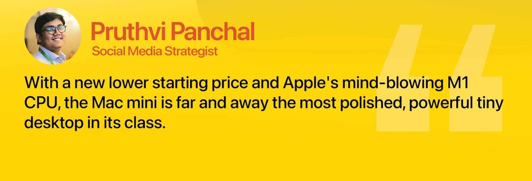 Apple Mac Mini Review Pruthvi