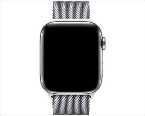 Apple Milanese Loop Stainless Steel Band for Apple Watch Series 6, SE, 5, 4, and 3