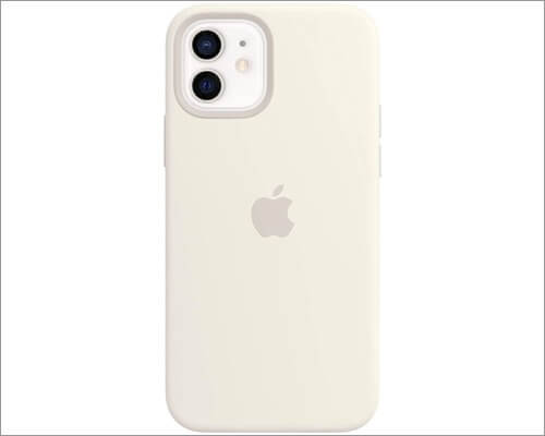 Apple Silicone Case with MagSafe for iPhone 12 and 12 Pro