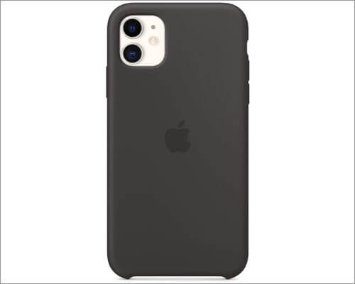 apple silicone slim case for iphone 11
