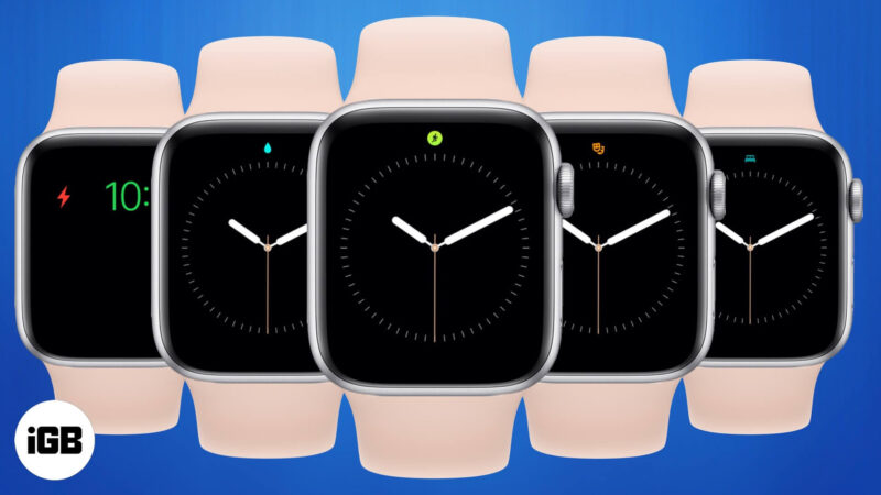 Apple Watch Icons and Symbols