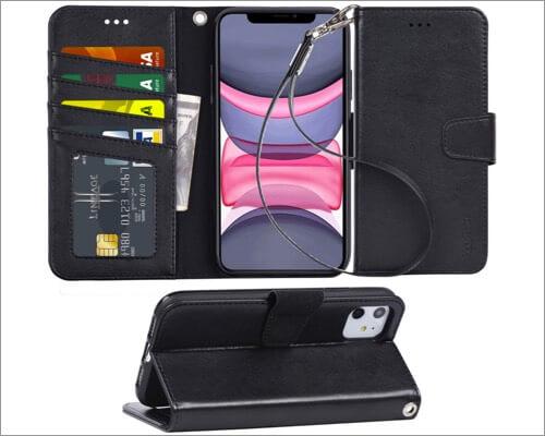 arae iphone 11 flip cover case