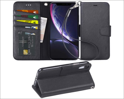 arae wallet case for iphone xr