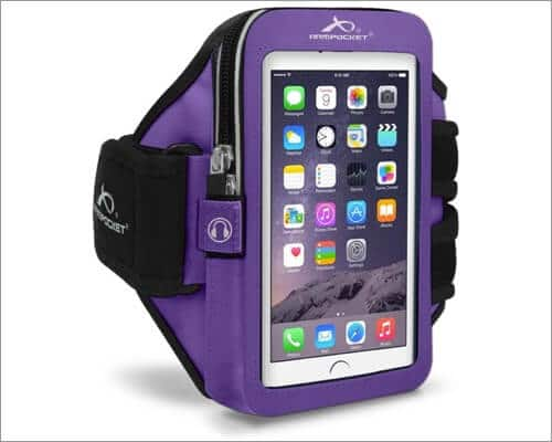 armpocket mega i-40 armband with small strap for iphone se 2020