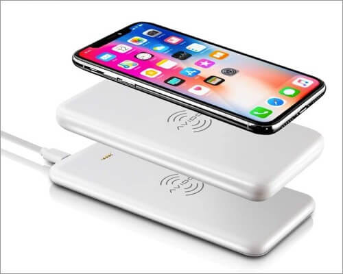 avido wireless power bank for iphone 11, 11 pro, and 11 pro max