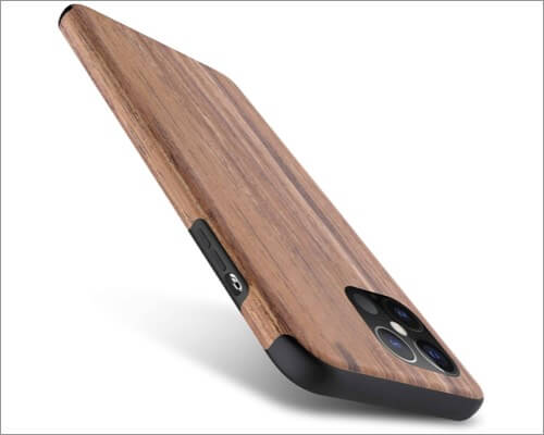 B Belk Wooden Case for iPhone 12 Mini and 12 Pro Max