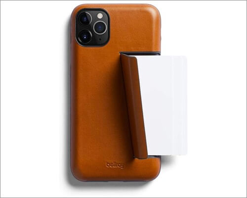 bellroy iphone 11 pro leather case with card holder
