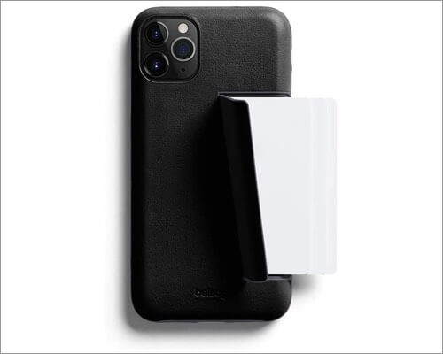 bellroy premium leather case for iphone 11 pro max