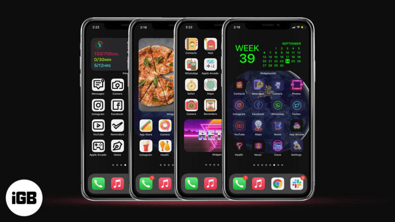 best aesthetic app icon set for iphone running ios 14