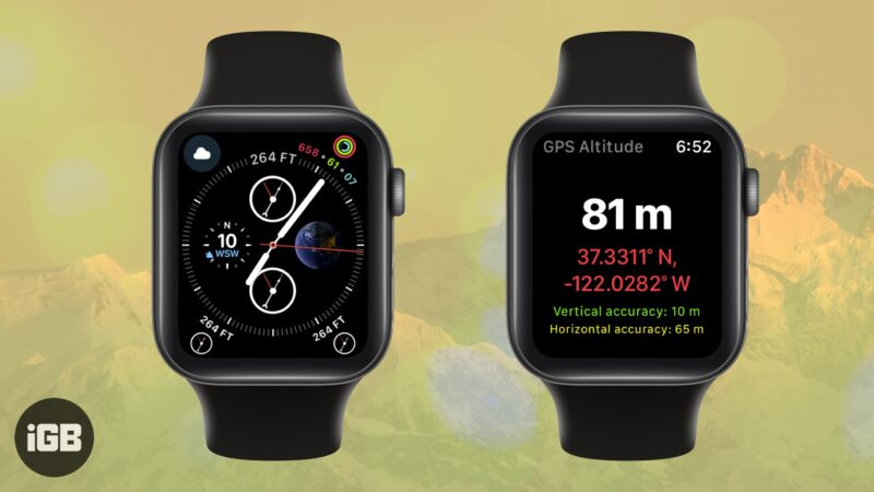 Best Altimeter Apps for Apple Watch