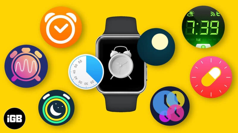 best apple watch alarm apps