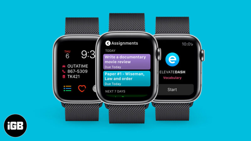 Best Apple Watch Apps for Students
