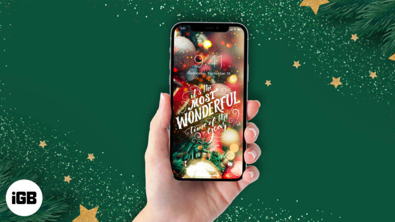 Best Christmas Wallpaper Apps for iPhone and iPad