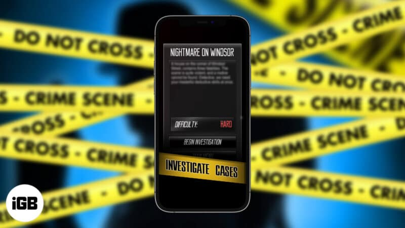 Best Detective Games for iPhone and iPad