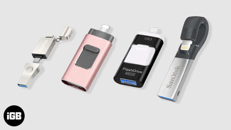 Best Flash Drives for iPhone