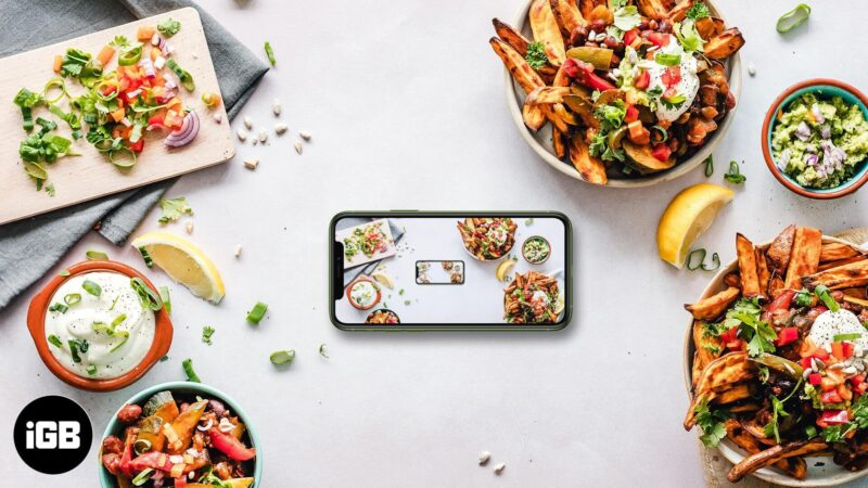 Best Food Photography Apps for iPhone and iPad