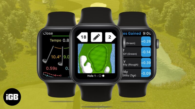 Best Golf Apps for Apple Watch