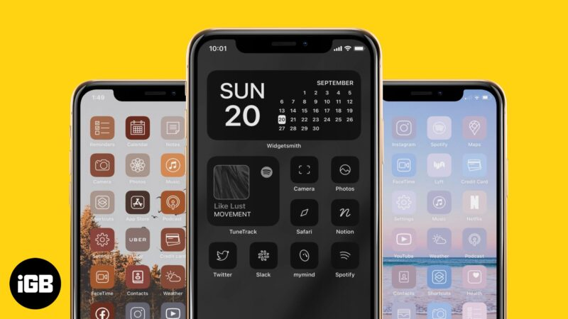 best ios 14 icon packs for iphone and ipad