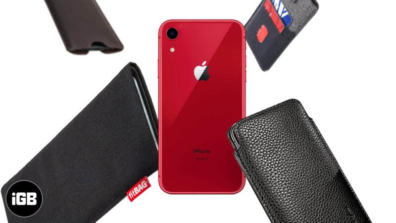 best iphone xr sleeves