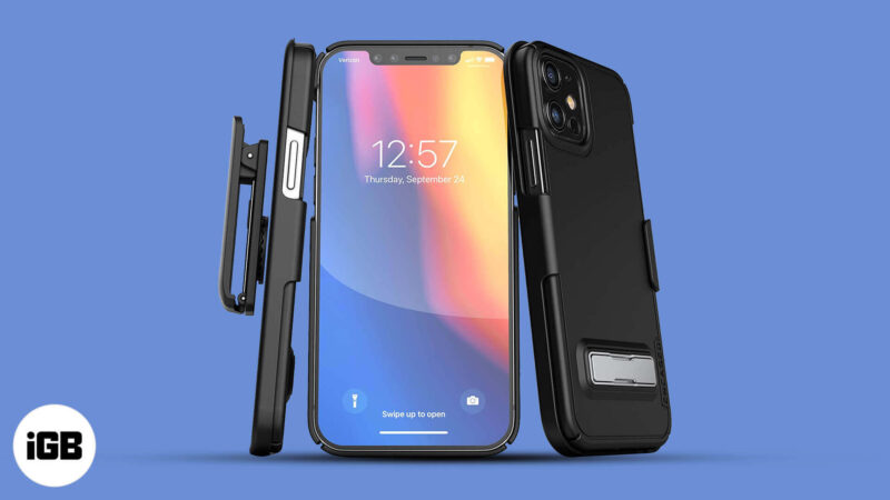 Best Kickstand Cases for iPhone 12 Mini, 12 Pro, and 12 Pro Max