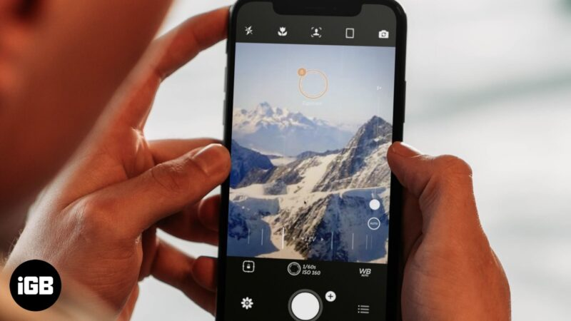 best manual camera apps for iphone