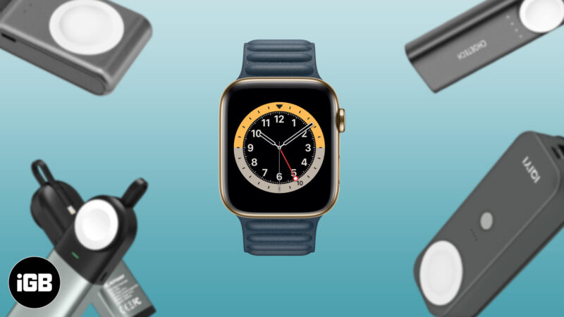 Best Power Banks for Apple Watch