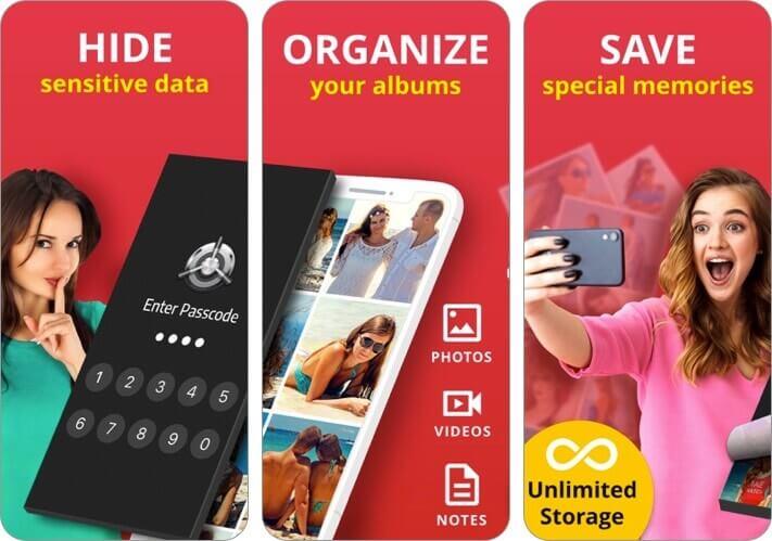 best secret folder iphone photo vault app screenshot