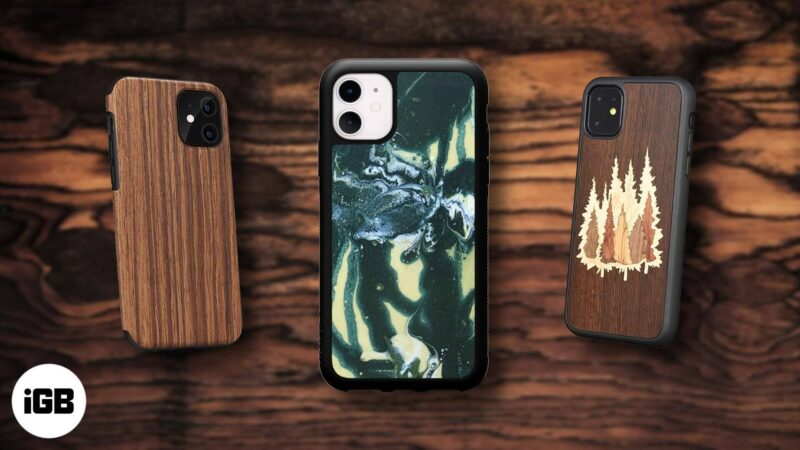 best wooden cases iphone 11